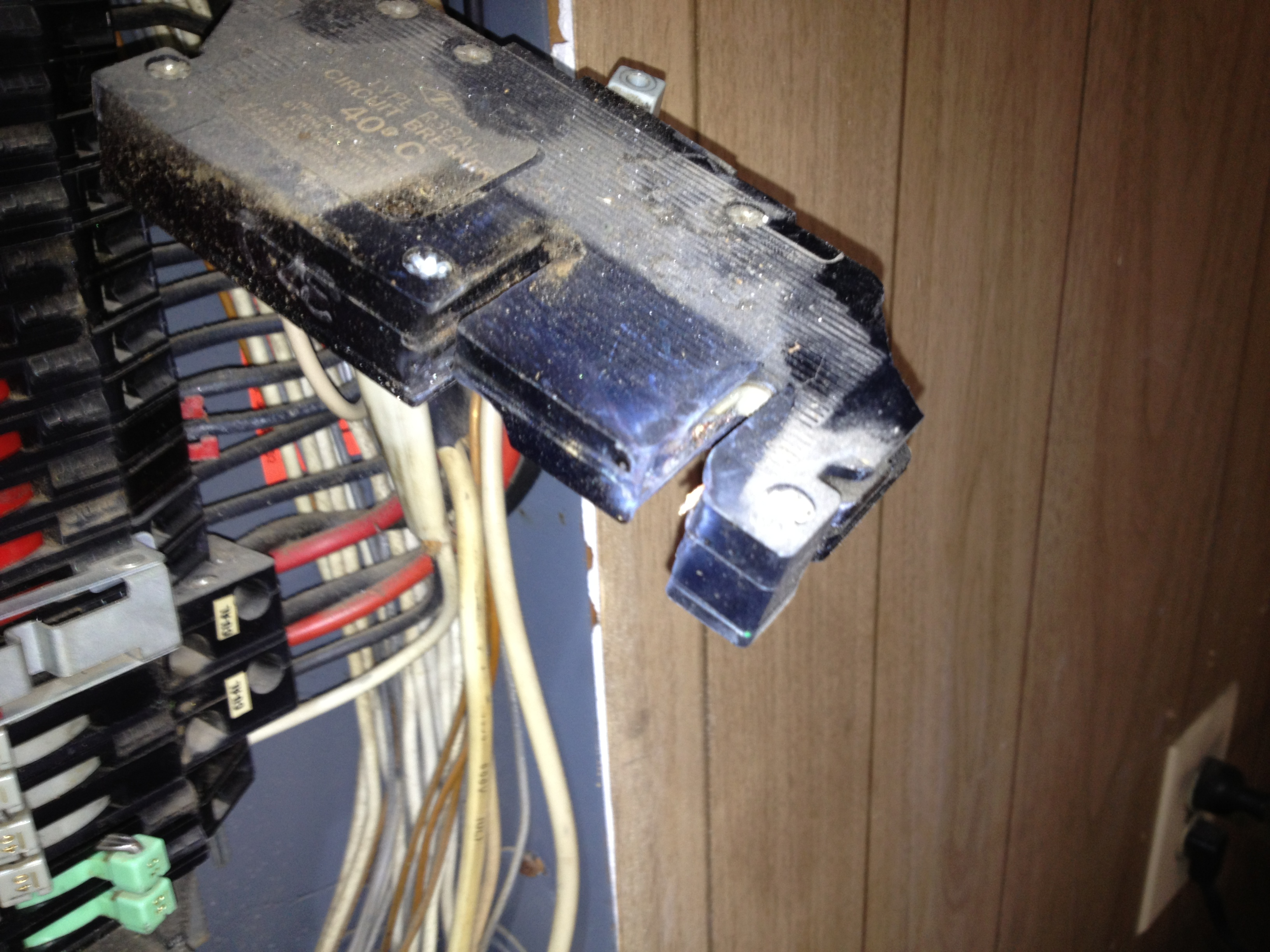 Do You Have One Of These In Your Home Touch Electricians Dangerous Electrical Wiring Breakers